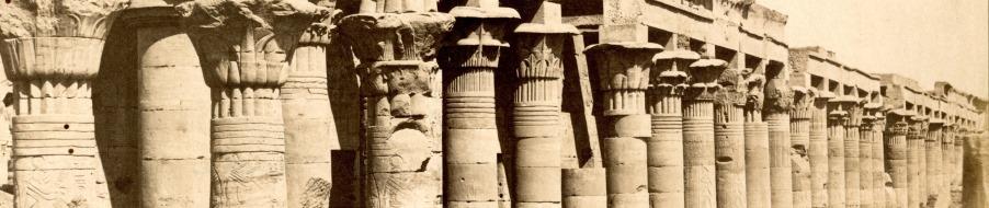 Ross photograph 129.7 (Memnon Colossi)