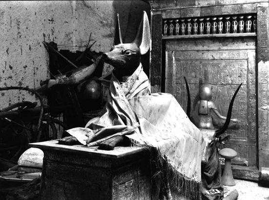 Prints of Harry Burton's photographs taken in the tomb of Tutankhamun for sale