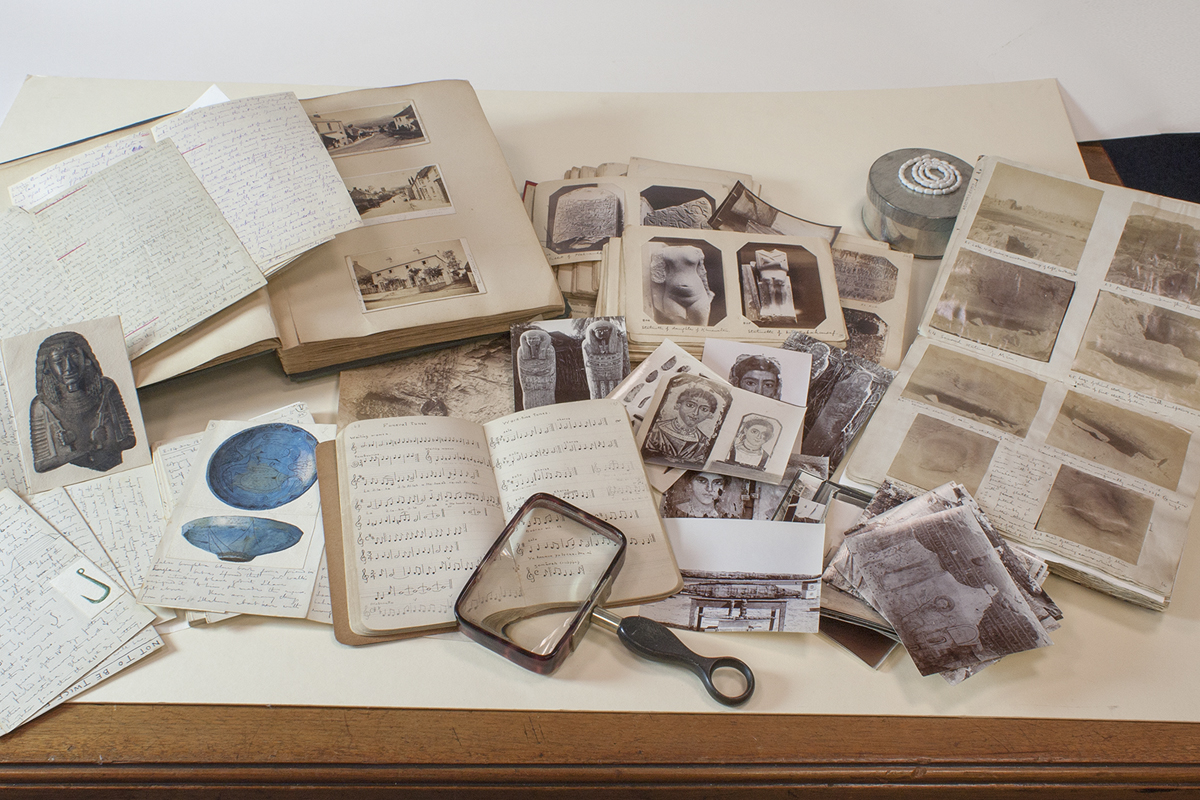 Photograph of the W. M. Flinders Petrie Collection