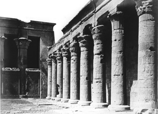 Béchard, H., Edfu (before 1887