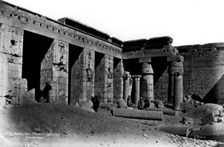 Béchard, H., The Theban west bank, Medinet Habu (before 1887
