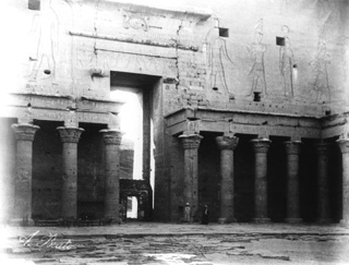Beato, A., Edfu (c.1890