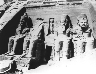 Sebah, J. P., Abu Simbel (c.1890