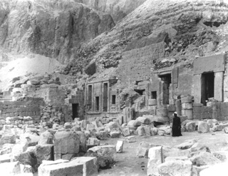 not known, The Theban west bank, Deir el-Bahri (c.1895