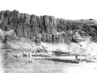 Lekegian, G., The Theban west bank, Deir el-Bahri (c.1895