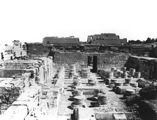 Sebah, J. P., The Theban west bank, Medinet Habu (c.1890