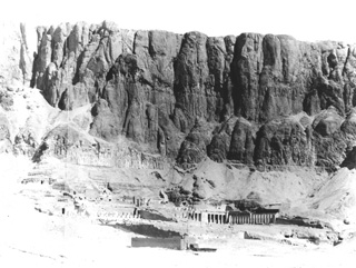 Beato, A., The Theban west bank, Deir el-Bahri (c.1895