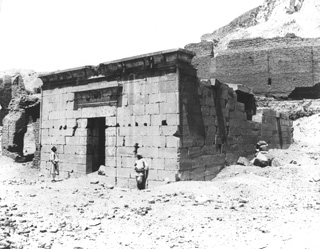 Sebah, J. P., The Theban west bank, Deir el-Medina (c.1890