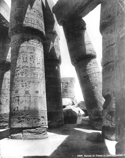 Edition Photoglob, Karnak (c.1890