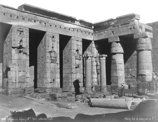 Lekegian, G., The Theban west bank, Medinet Habu (c.1890