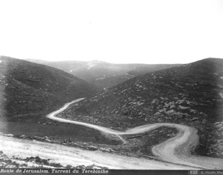 Fiorillo, L., The valley of Ophra (Terebinthe) (c.1880  [Estimated date.]) (Enlarged image size=55Kb)
