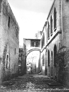 Bonfils, F., Jerusalem (c.1880  [Estimated date.]) (Enlarged image size=84Kb)