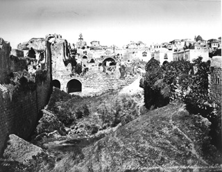 Bonfils, F., Jerusalem (c.1880  [Estimated date.]) (Enlarged image size=101Kb)