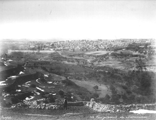 Bonfils, F., Jerusalem (c.1880  [Estimated date.]) (Enlarged image size=68Kb)