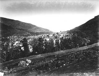 Bonfils, F., Nablus (Shechem) (c.1870  [Estimated date.]) (Enlarged image size=78Kb)