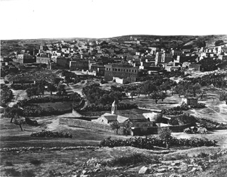not known, Nazareth (c.1870  [Estimated date.]) (Enlarged image size=97Kb)