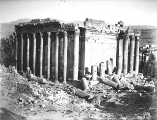 Bonfils, F., Baalbek (c.1870  [Estimated date.]) (Enlarged image size=92Kb)