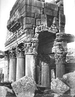 Bonfils, F., Baalbek (c.1870  [Estimated date.]) (Enlarged image size=99Kb)