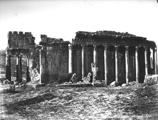 Bonfils, F., Baalbek (c.1870  [Estimated date.]) (Enlarged image size=86Kb)
