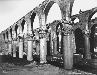 Bonfils, F., Baalbek (c.1870  [Estimated date.]) (Enlarged image size=90Kb)