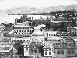 Bonfils, F., Beirut (c.1870  [Estimated date.]) (Enlarged image size=98Kb)