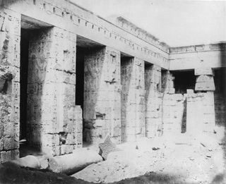 not known, The Theban west bank, Medinet Habu (c.1890