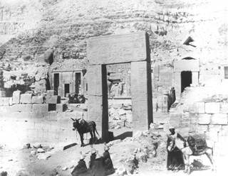 Zangaki, G., The Theban west bank, Deir el-Bahri (c.1895