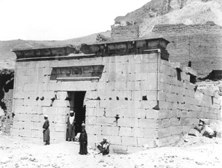 not known, The Theban west bank, Deir el-Medina (c.1890