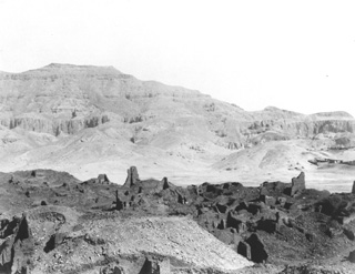 not known, The Theban west bank (c.1890