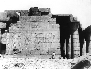 not known, The Theban west bank, the Ramesseum (c.1890