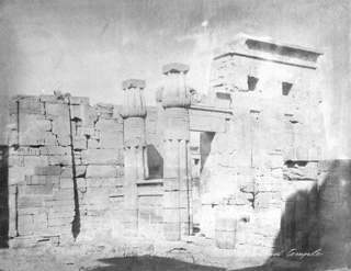 Peridis, The Theban west bank, Medinet Habu (c.1900
