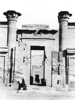 Beato, A., The Theban west bank, Medinet Habu (c.1900