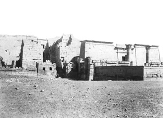 Beato, A., The Theban west bank, Medinet Habu (c.1890