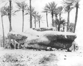 Sebah, J. P., Mit Rahina (Memphis) (1887