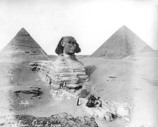 Bonfils, F., Giza (c.1890