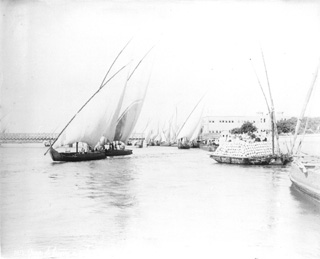Bonfils, F., Nile transport (c.1890