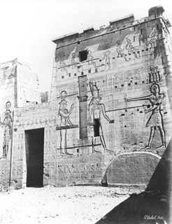 Sebah, J. P., Philae (before 1874