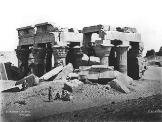 Sebah, J. P., Kom Ombo (before 1874