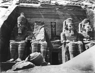 Sebah, J. P., Abu Simbel (before 1874