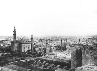 Frith, F. (almost certainly), Cairo (1856-60 [The dates of Frith's visits to Egypt.]) (Enlarged image size=28Kb)