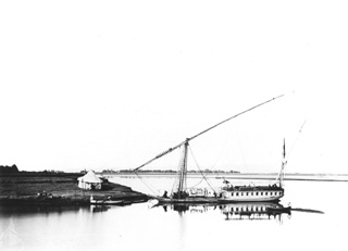 not known, Nile transport (before 1872