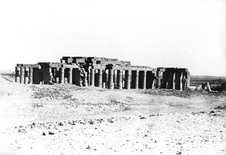 Beato, A., The Theban west bank, the Ramesseum (before 1872
