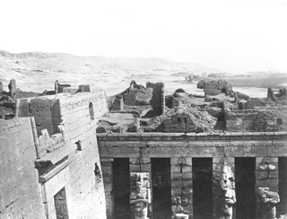 not known, The Theban west bank, Medinet Habu (before 1872