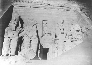 Beato, A., Abu Simbel (before 1872