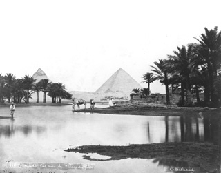 Béchard, E., Giza (before 1887
