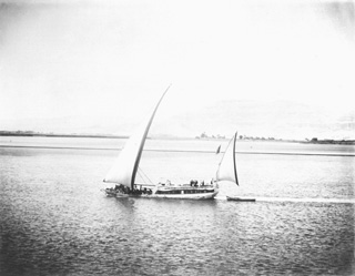 not known, Nile transport (c.1900
