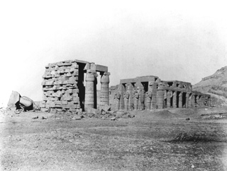 Beato, A., The Theban west bank, the Ramesseum (c.1900
