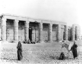Schroeder & Cie., The Theban west bank, Qurna (c.1890