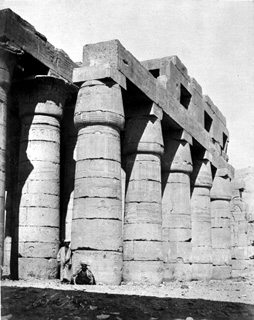 Beato, A., The Theban west bank, the Ramesseum (c.1890) (Enlarged image size=70Kb)