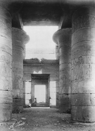 Beato, A., The Theban west bank, the Ramesseum (c.1890